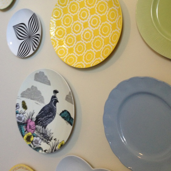 wall display plates