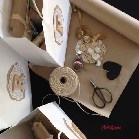 gift wrapping ideas doileys ribbon washi tape