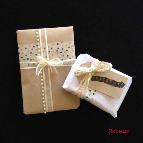pretty gift wrapping ideas