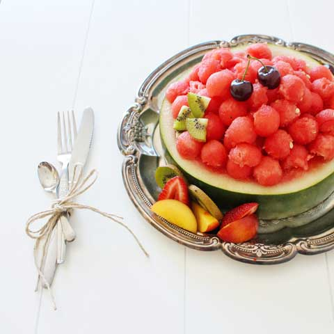 7 vignettes summer watermelon