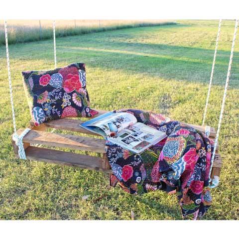 Pallet Swing DIY