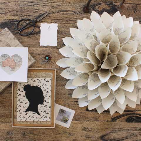seven vignettes handmade