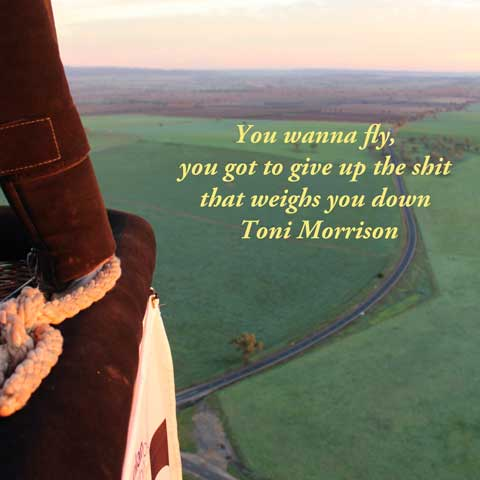 Wise Words from Toni Morrison