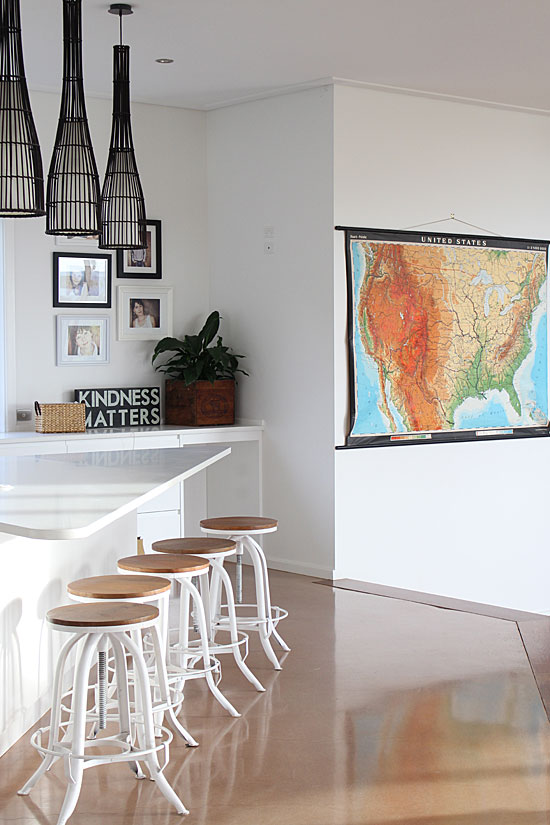styling with vintage maps