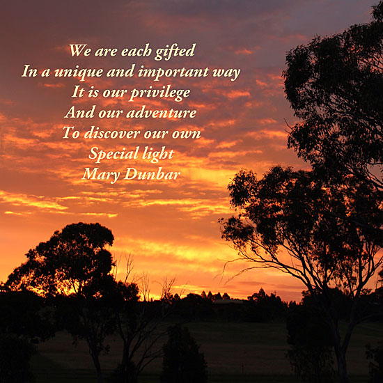 Wise Words from Mary Dunbar