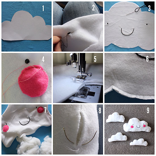 Cloud cushion step by step