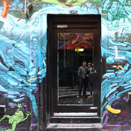 lane way and alley street art Melbourne
