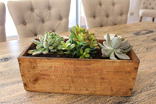 repurposing wooden crates