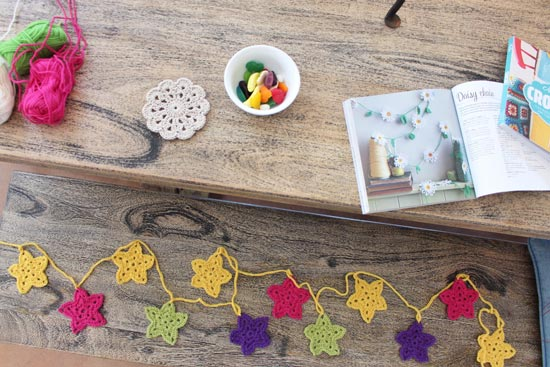 easy crochet garland