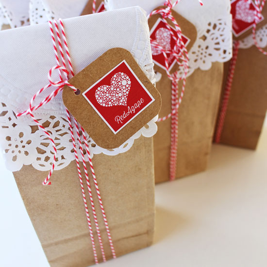 pretty party bags