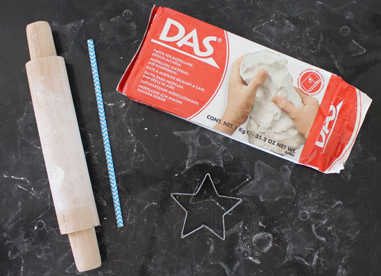 DAS air dry clay christmas ornaments