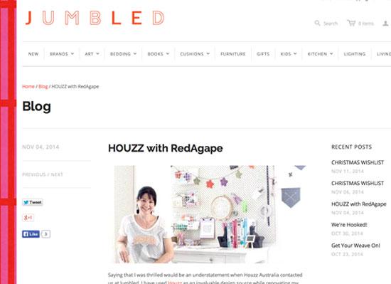 redagape jumbled home wares