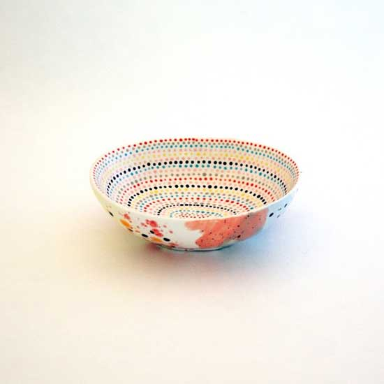 hand painted bowl