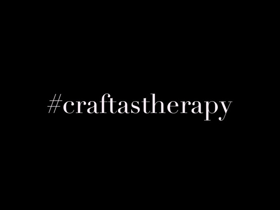 #craftastherapy