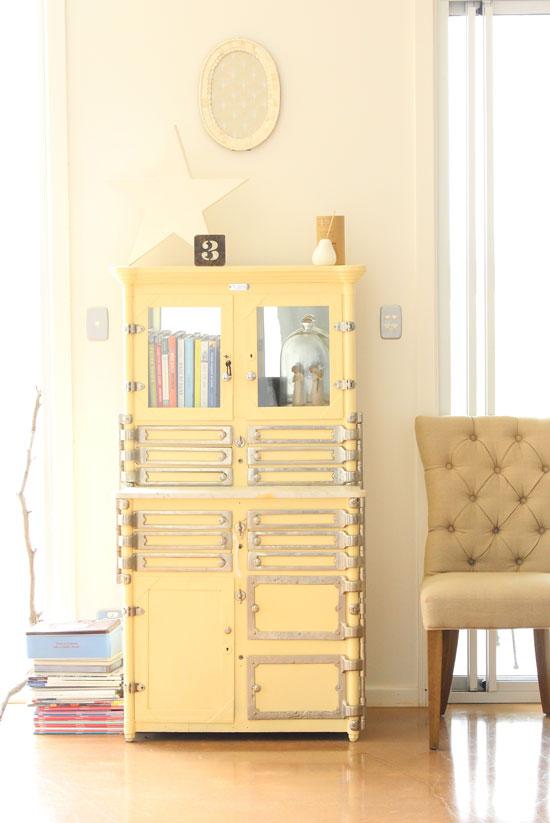 old medical cabinet